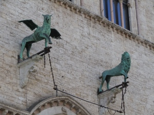 Griffin e Lion Perugia