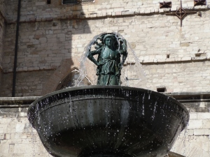 Top of Tiered Fountain - Perugia
